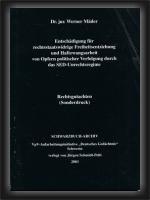 Rechtgutachten Dr. Mäder (Sonderdruck)